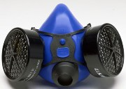 The Comfort-Air Series 100 Half-Mask Respirator is molded from pure silicone with no extra additives. The Series 100 is the most comfortable, quickest to clean respirator, and its durability provides a long service life. MADE IN THE USA!