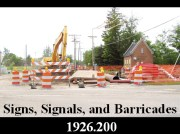 Signs, Signals, and Barricades for Construction Power point. Easy to use and fully editable PowerPoint Program. Having an in house program provides the employer with greater flexibility and saves money. PowerPoint