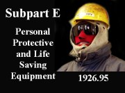 Personal Protective and Life Saving Equipment Construction Power point. Easy to use and fully editable PowerPoint Program. Having an in-house program provides the employer with greater flexibility and saves money. There are 86 PowerPoint Slides that are full of photos and drawings, and have notes for the trainer as needed. Also included is a printable, 5-page handout.