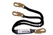 6' dual-leg (100% tie-off), shock absorbing lanyard. Made of 1 3/8