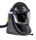 The Pureflo® Airline Supplied Air Respirator (SAR) is available as a low or high pressure system. There are options for helmet color, and with or without a welding shield on this sytem that provides head, eye, and face protection. The helmet/top can even be converted to a PAPR system (see Pureflo Hydra for details). BE SURE TO CHECK THE PRODUCT DESCRIPTION AND ORDER FORM TO ENSURE YOU ORDER ALL THE NECESSARY PARTS FOR YOUR PUREFLO AIRLINE SYSTEM!